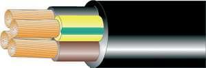 udendørs gksoj - tromle afmålt h07rn-f - mm2 5 4g1 gummikabel