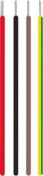 rød siaf mm2 0 1x6 silikoneledning