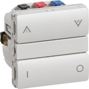 lysegrå modul 1 sparepærer led og cfl til også relæ afbryder kombi allround fuga - wireless ihc lk