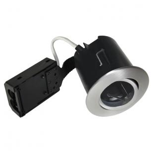 alu børstet ip44 lyskilde ex 230v gu10 ø86mm high install quick - 1212 nordtronic