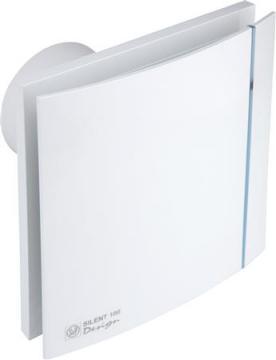 ø116mm 210x210mm timer indstillelig med ventilator hvid design crz 200 silent p s