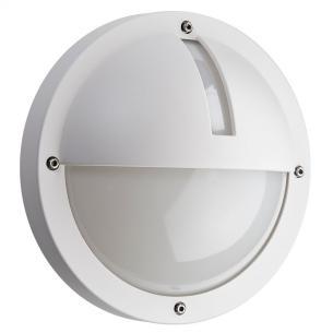 hvid - ip65 væglampe 3000k 5w 11 led 1100 uno - armaturen sg