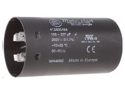 ø45x84mm 250v 100uf - kondensator start motor