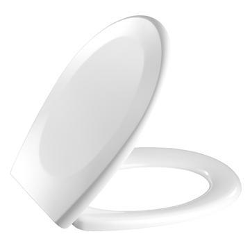 universalbeslag hvid låg m 716 toiletsæde pressalit