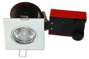 lyskilde ex hvid gu10 230v 87x87mm 2-setup easy daxtor
