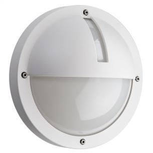 hvid - ip65 væglampe skumringsrelæ m 3000k 5w 11 led 1100 uno - armaturen sg