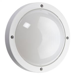 hvid - ip65 væglampe skumringsrelæ m 3000k 5w 11 led 1100 primo - armaturen sg