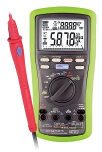 måleprobe og måling temperatur med multimeter isolations bm878 elma