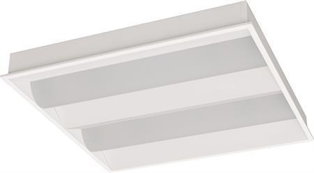 ip21 modul mm 600x600 f indbygningsarmatur ra83 lm 3400 3000k 38w taurus led-panel