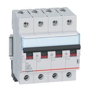 rx3 - 6ka modul 4 n 3p 13a c automatsikring legrand