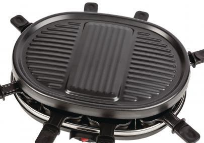 Kob Billig Raclette Grill 8 Personer 900 W Sort Az Fc20