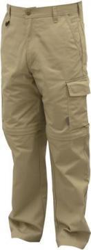 c52 khaki off zip - arbejdsbukser
