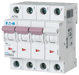 modul 4 nul polet 3 32a c automatsikring moeller eaton