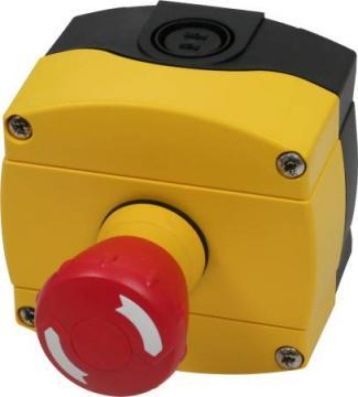 kontakt 1nc - 1no med komplet nødstopkasse