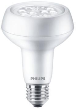 reflektorpære 40w 7w 2 dæmpbar ikke 36 lumen 210 e27 827 7w 2 r63 corepro led philips