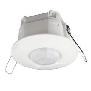 hvid ip41 mm ø78 230v 360 indbygning pir-sensor legrand