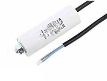 ledning med forskruning m8 450v 3uf - kondensator motor