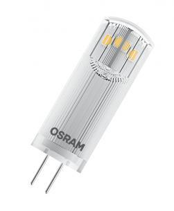 stiftpære 20w 8w 1 12v g4 lumen 200 827 8w 1 parathom pin led osram