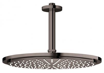 graphite hard poleret - spray 1 mm 142 loft til sæt hovedbruser 310 cosmopolitan rainshower grohe