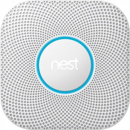 mobiltelefon din til advarsler sender og taler tænker kuliltealarm og røg- - batteri backup med 230v wired - protect nest