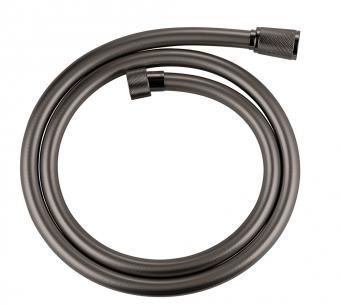 graphite hard poleret - 1250mm bruserslange silverflex grohe