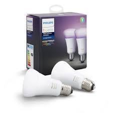 farve pak 2 e27 a60 ambiance color and white hue philips