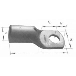 m5 0 4 cu rørkabelsko
