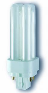 kompaktrør 4pin g24q-3 840 26w e d dulux osram
