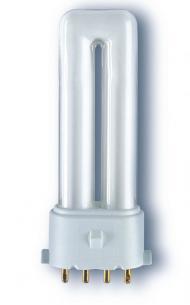 kompaktrør pin 4 2g7 827 7w e s dulux osram