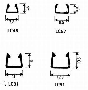5mm 0-7 5 tape m klar 57 lc minikanal