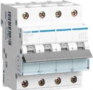 mcn616e - modul 4 16a n 3p automatsikring hager