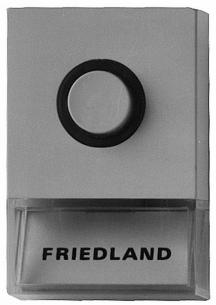 d723w hvid pushlite ringetryk friedland