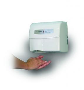 hvid automatic mini håndtørrer dryer dan