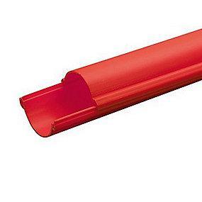 meter 3 længde pehd 2-delt rød mm 110 kabelrør