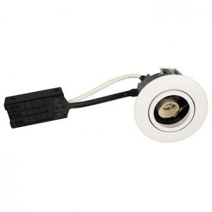 lyskilde ex - hvid mat gu10 ø88mm rund qi luna - products scan