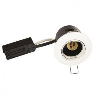 hvid mat lyskilde ex 65mm h ø88mm 230v gu10 alda products scan