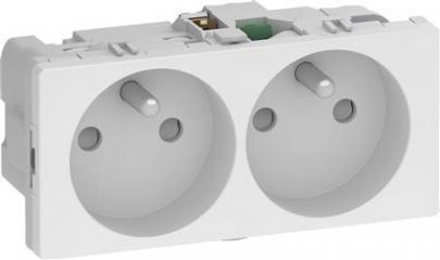 hvid modul 0 2 pindjord med polet 2 stikkontakt fuga lk