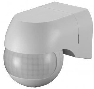 bevægelsessensor - hvid ip44 230v mtr 12 180gr sensor mini pir