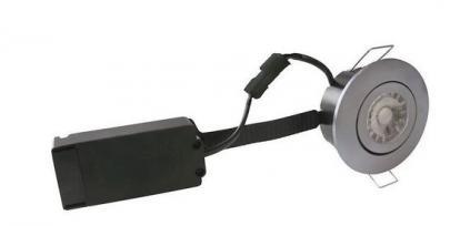 børstet ip44 dæmpbar hvid kold 4000k 6w ø87mm led flexible profile low - 3522 nordtronic