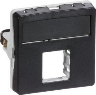 konnektor 1xrj45 f koksgrå modul 1 t1 dataudtag fuga lk