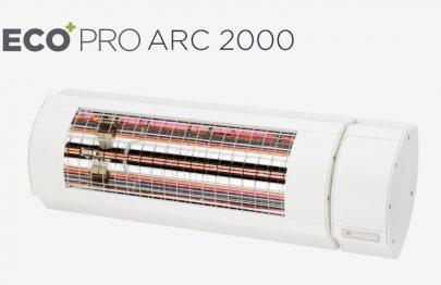 model 2019 forbedret ny hvid - varmeregulering trinløs med arc pro 2000eco solamagic