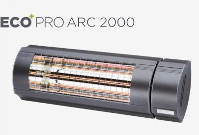 model 2019 forbedret ny antracit - varmeregulering trinløs med arc pro 2000eco solamagic