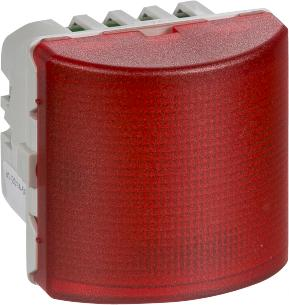 blink konstant rød 24v led signallampe fuga lk