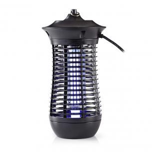 sort m 150 rækkevidde effektiv bl pl 18w 2g11 type lampe w 18 myggefælde nedis