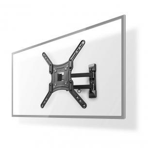 sort stål abs drejepunkter 3 mm 400 vægafstand maksimal mm 70 vægafstand minimum drejes kan vipbar kg 30 vægt maksimal 23-55 vægbeslag tv motion fuld