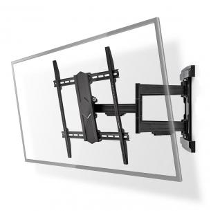 sort stål drejepunkter 3 mm 800 vægafstand maksimal mm 70 vægafstand minimum drejes kan vipbar kg 70 vægt maksimal 43-90 vægbeslag tv motion fuld