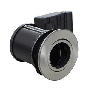 spot lufttætte det stål børstet - downlight 95mm h ø87mm gu10 tight diospot