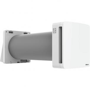 hvid base 100 eco varmegevinding med ventilation ø100mm unoklima klimair