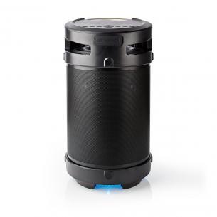 sølv sort lys fest bærehåndtag parres kan ipx5 usb aux medieafspilning w 150 1 4 time 5 3 til op boombox party
