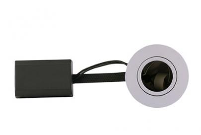 lyskilde ex børstet ip21 230v gu10 ø92mm downlight punto